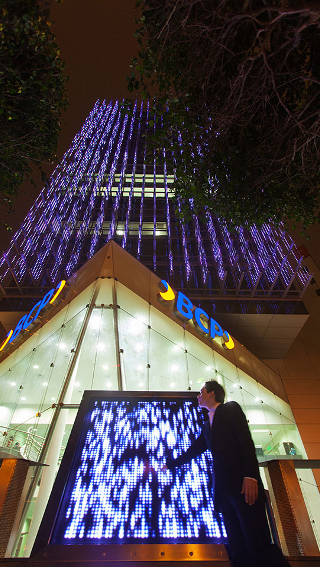 El edificio BCP iluminado por Philips Lighting